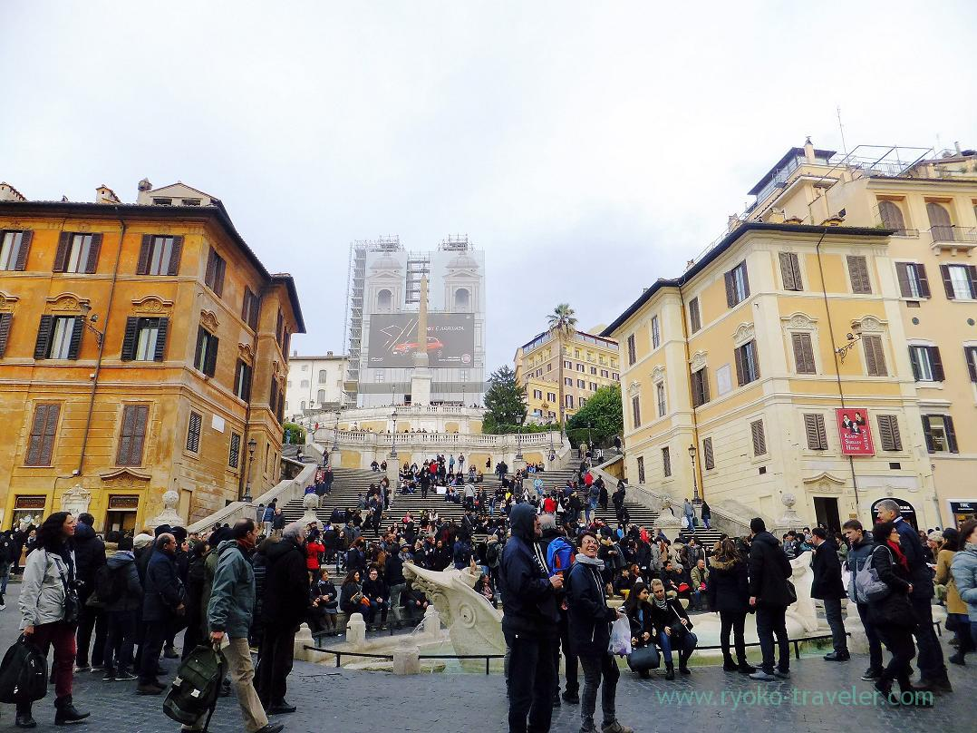 Steps, Spanish Steps (Trip to Italy 2015)