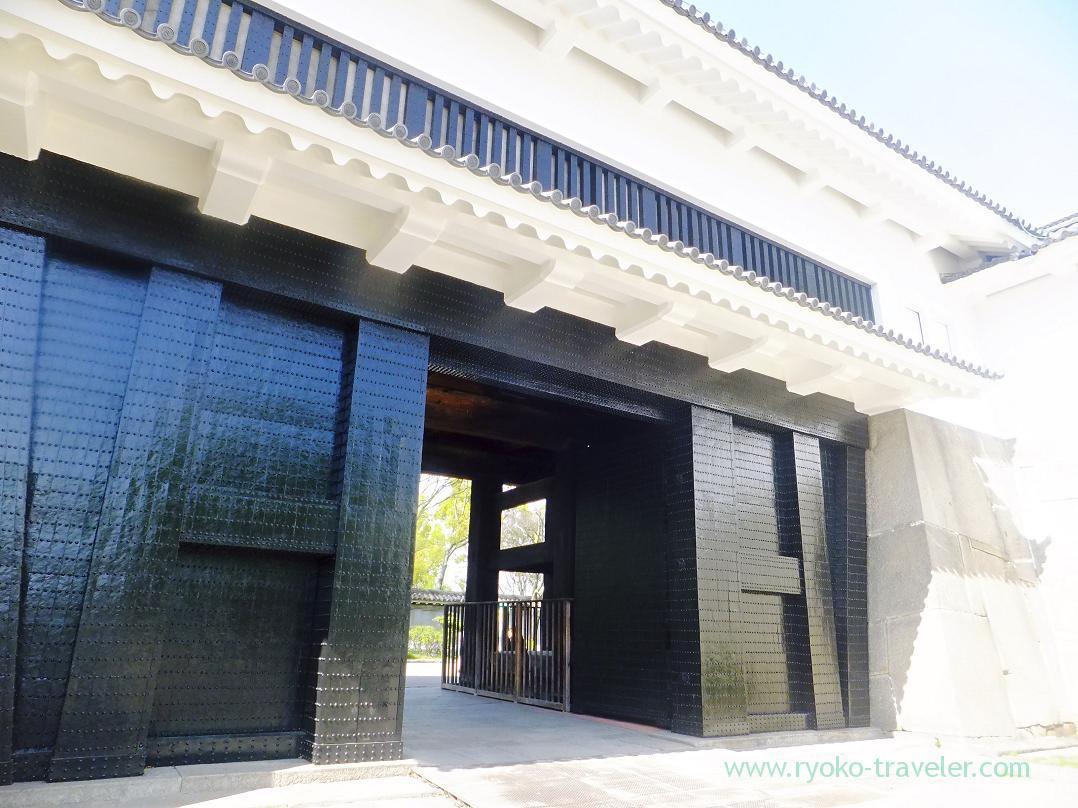 Tamon gate, Osaka-jo castle, Osaka-jo park (Trip to Osaka 201504)