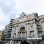 Italy 2015 (12/14) : Trevi fountain and panino