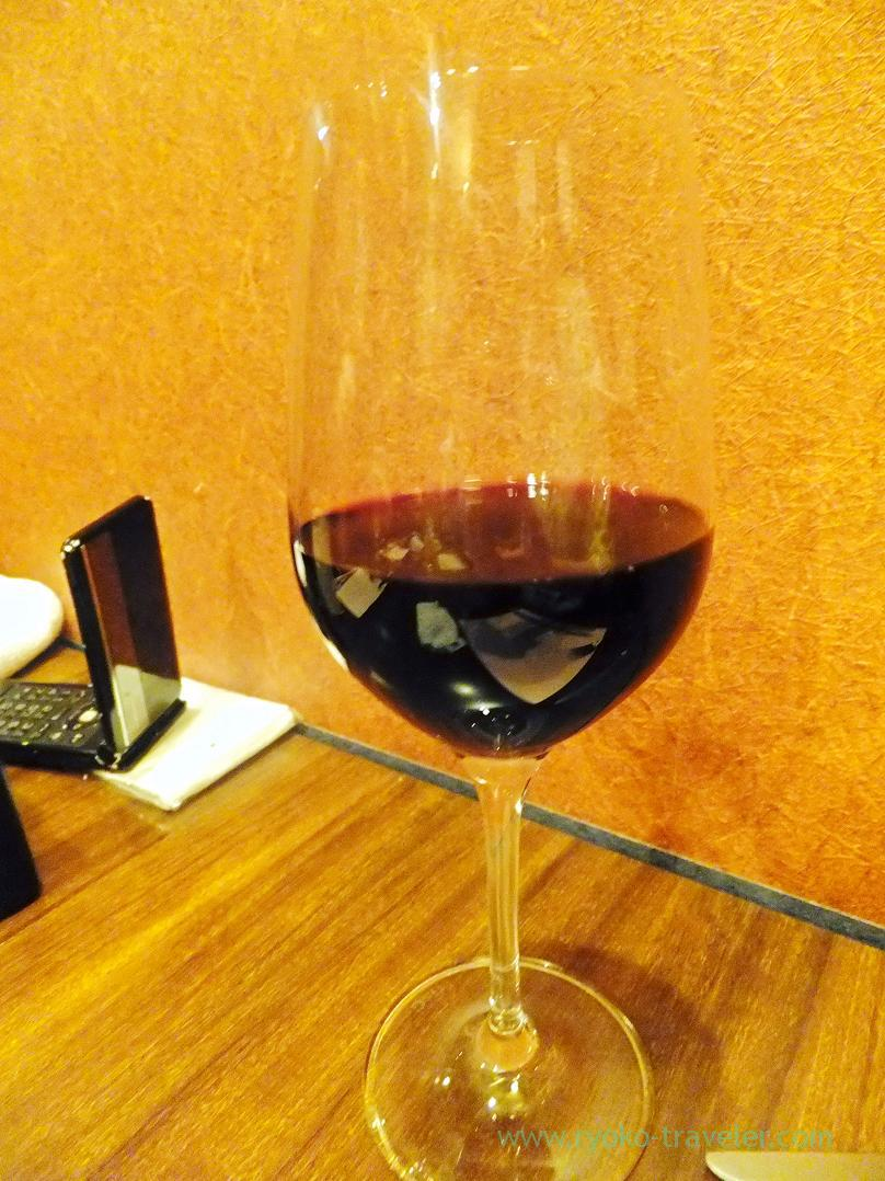 red wine, Begin, Nanba (Trip to Osaka 201504)