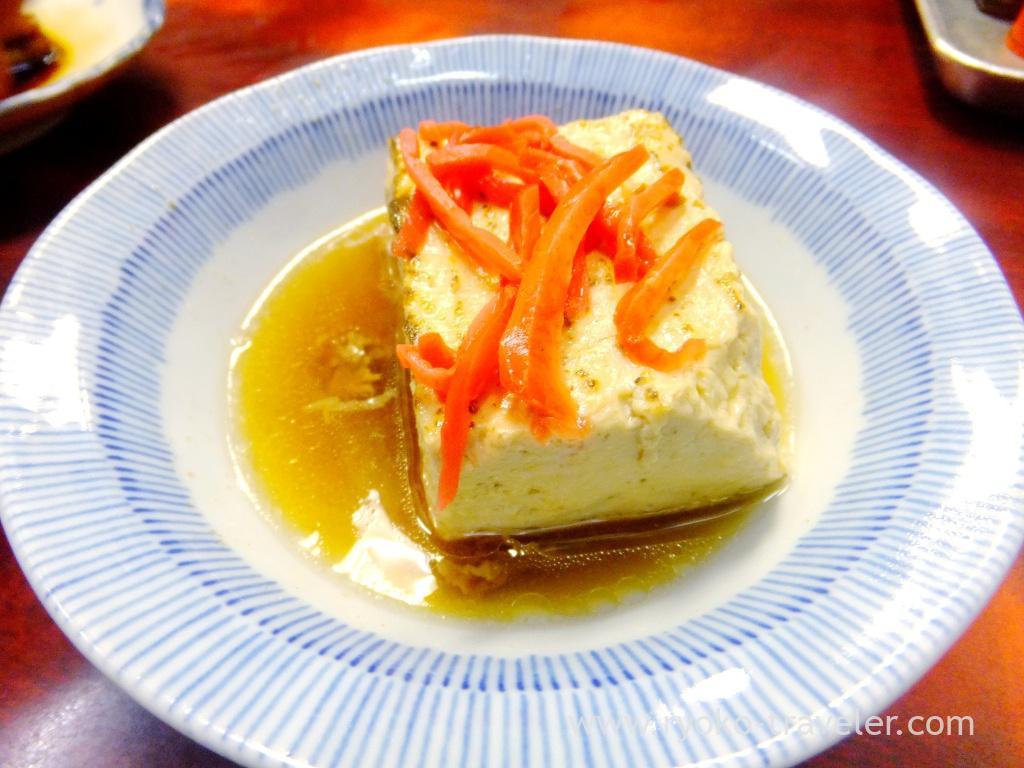 Boiled tofu, Edogawa (Tsukiji Market)