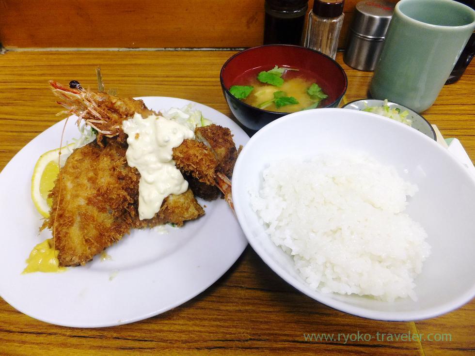 C set, Tonkatsu Yachiyo (Tsukiji Market)