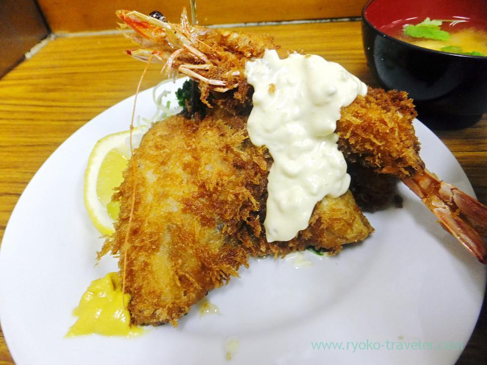 Fries of C set, Tonkatsu Yachiyo (Tsukiji Market)
