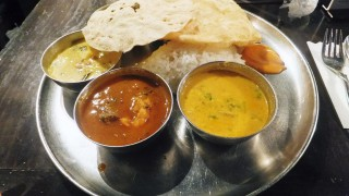 Kyobashi :  Lunch meals at Dhaba India (ダバインディア)