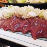 Ningyocho : Farewell party for raw pork meats at Hyottoko (やきとん ひょっとこ)