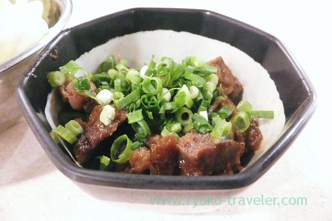 Beef tendon stew Doteni, Kushikatsu Tanaka Motoyawata branch (Motoyawata)