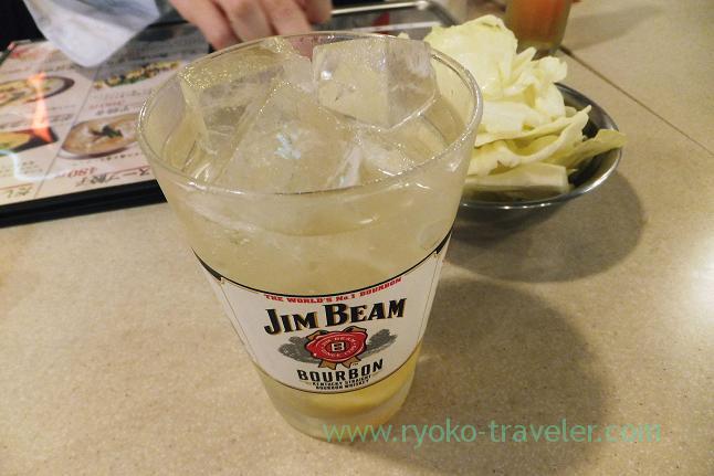 Jim Beam highball, Kushikatsu Tanaka Motoyawata branch (Motoyawata)