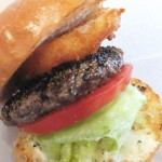 Kinshicho :  Pepper hamburger at Shake tree