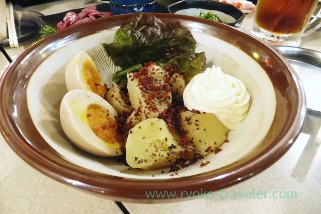 Potato salad, Kushikatsu Tanaka Motoyawata branch (Motoyawata)