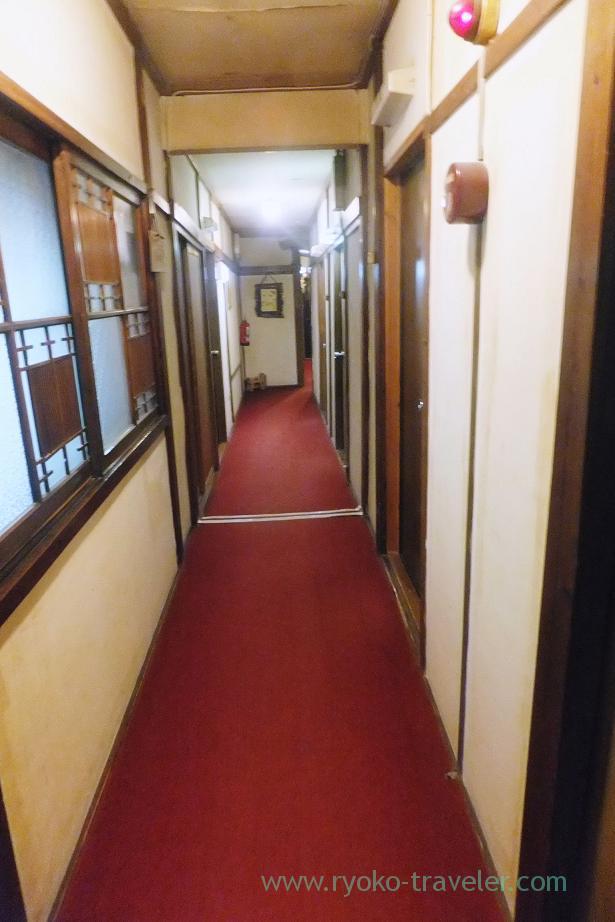 Alley, Ryokan Hitaya, Amagase (Oita 2015 Spring)