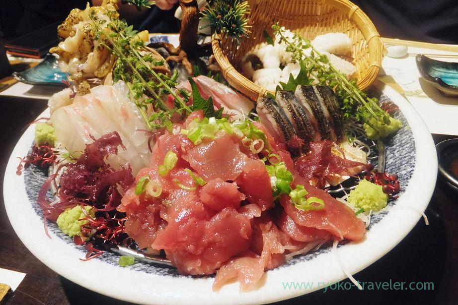 Assorted sashimi, Fujimura (Tsukiji)