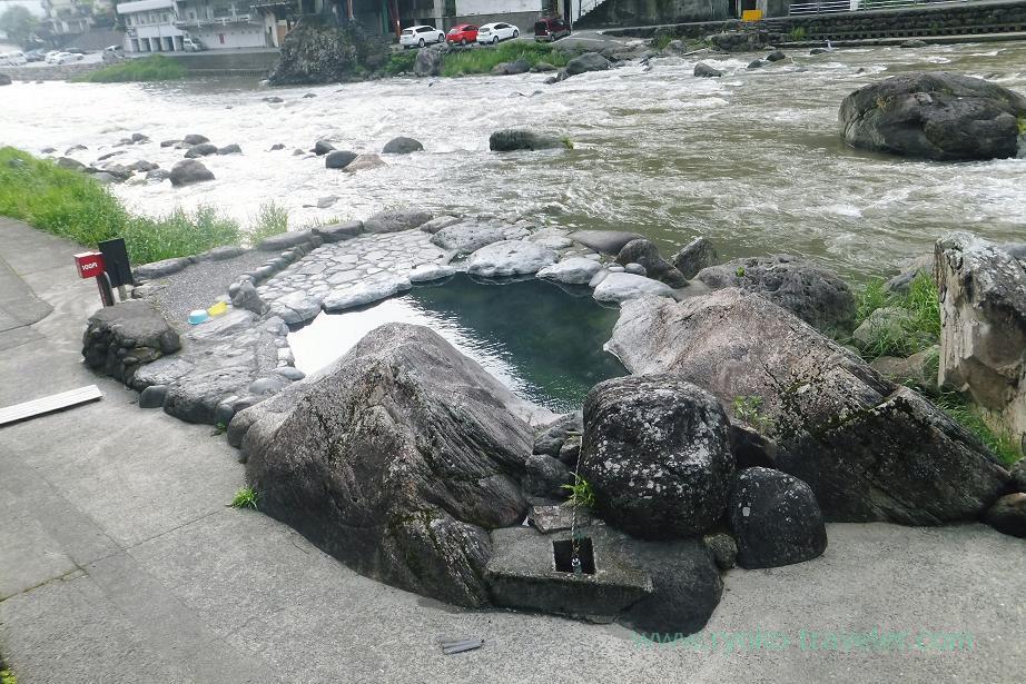Bathtub, Jinden-yu, Amagase (Oita 2015 Spring)