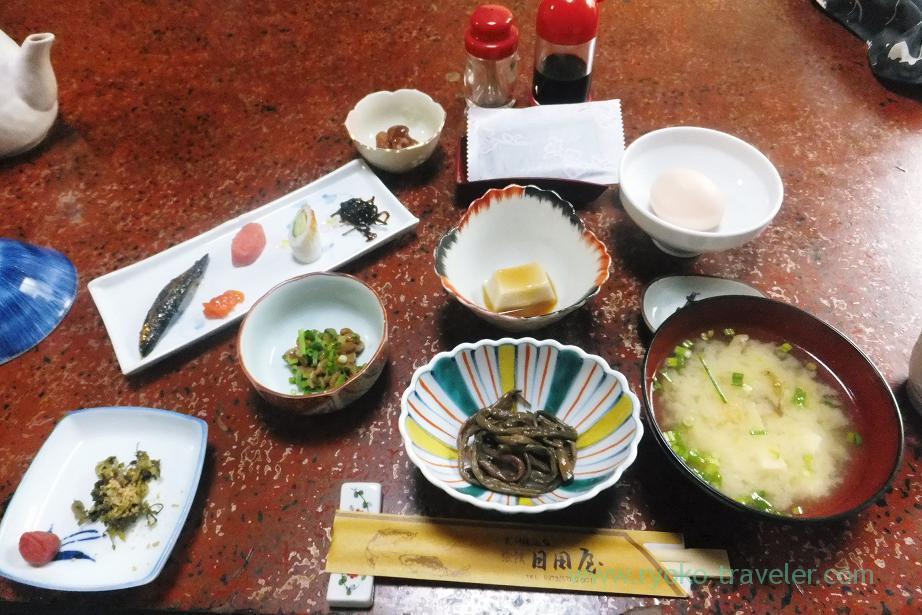 Breakfast, Ryokan Hitaya, Amagase (Oita 2015 Spring)