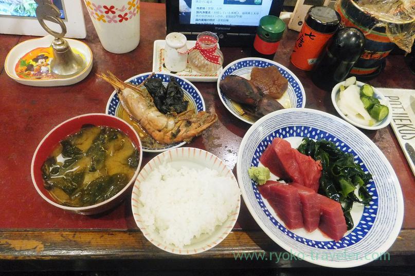 Chef's choice, Yonehana (Tsukiji Market)