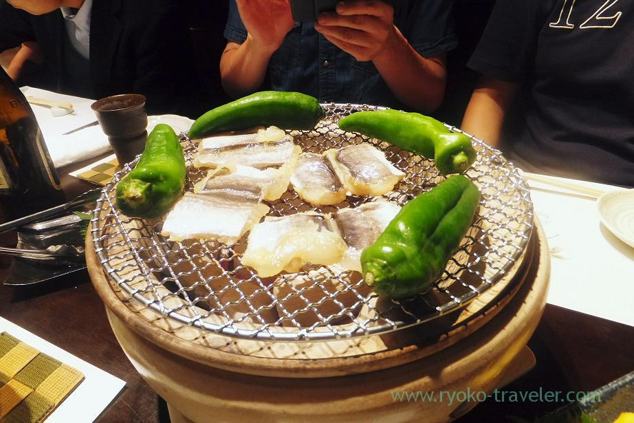 Conger eel Yuan-yaki, Fujimura (Tsukiji)