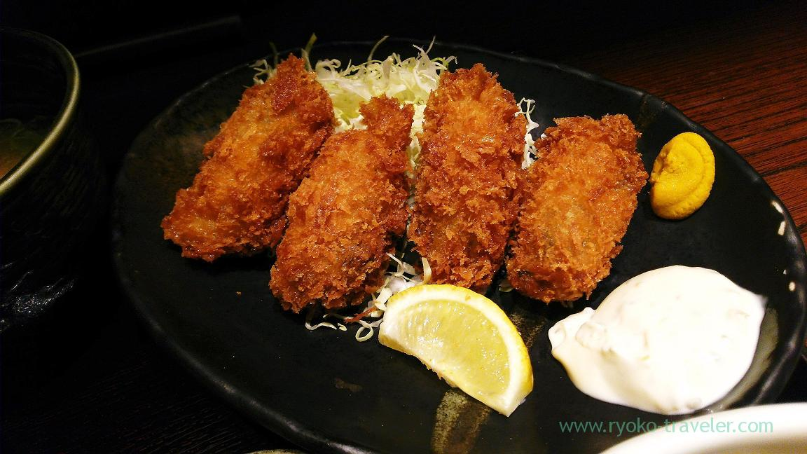 Deep fried oysters, Torigen Funabashi Face branch (Funabashi)