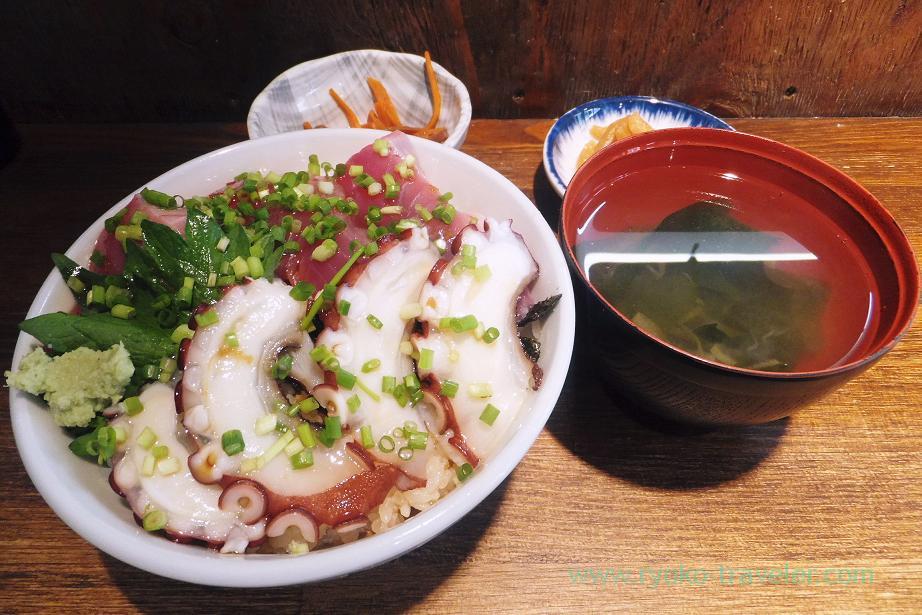 Lunch set, Hajime Sengyo-ten (Tsukiji)