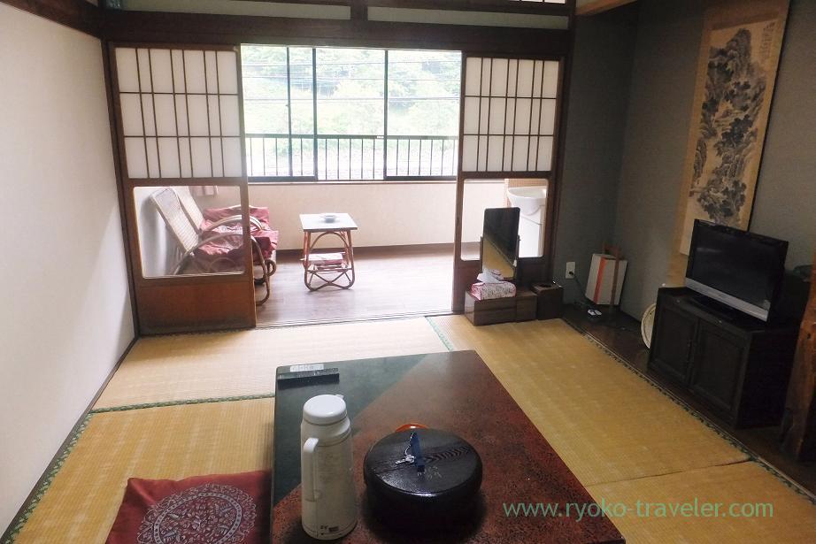 My room, Ryokan Hitaya, Amagase (Oita 2015 Spring)