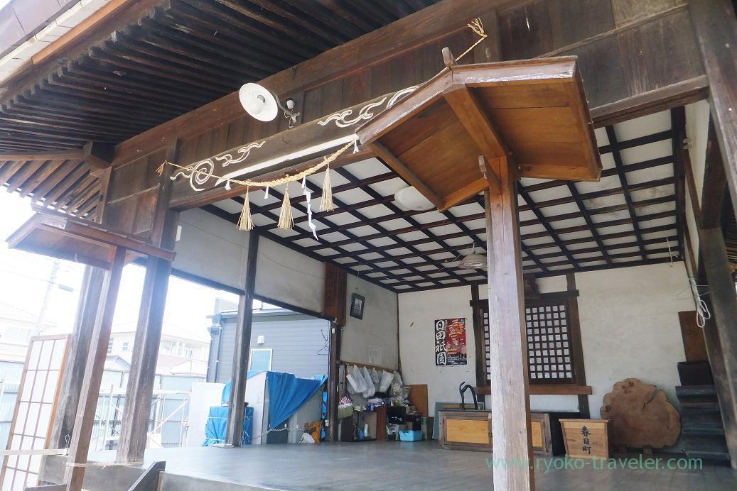 Shrine, Mamedamachi, Hita (Oita 2015 Spring)