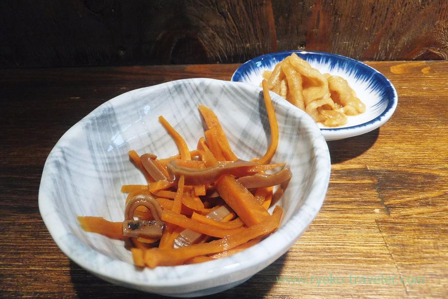 Squid and carrots, Hajime Sengyo-ten (Tsukiji)