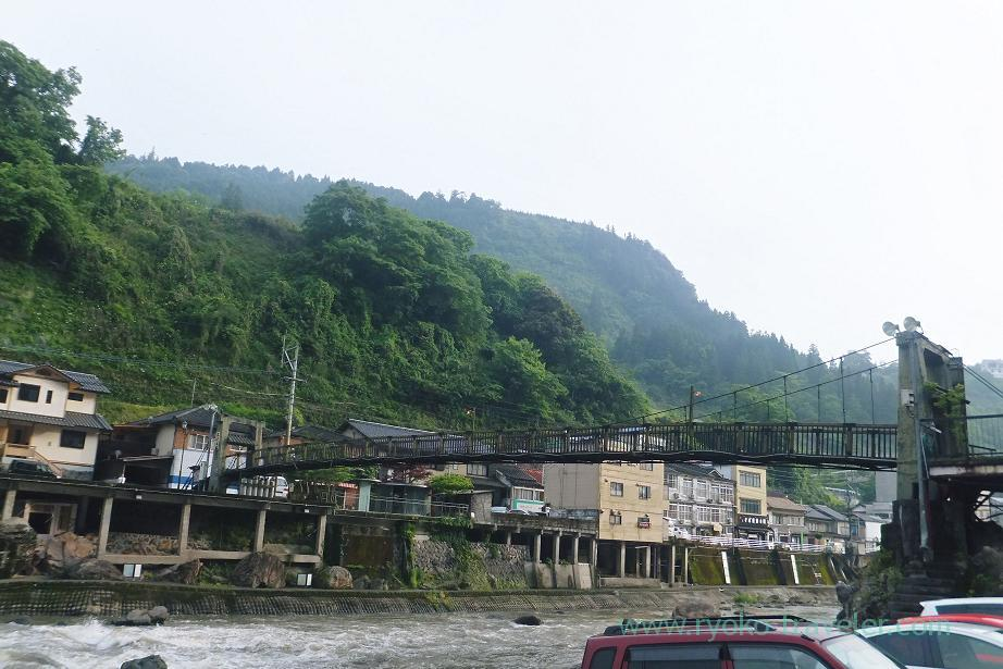 Suspension bridge, Syotenkaku, Amagase (Oita 2015 Spring)