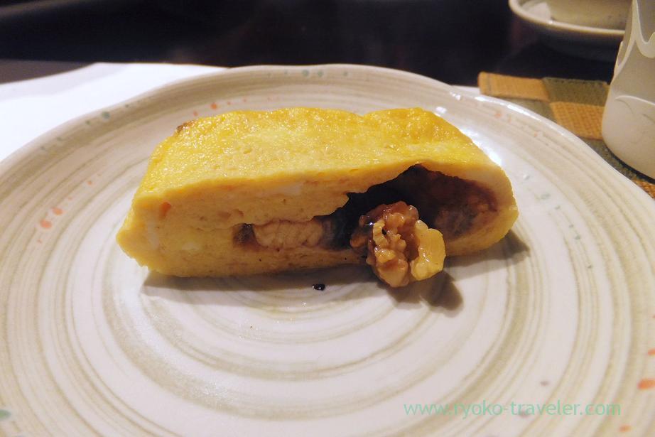Tamagoyaki have eels liver, Fujimura (Tsukiji)