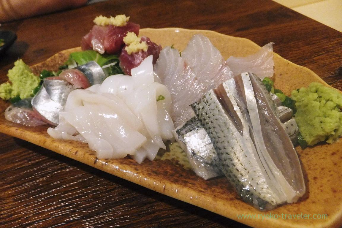Assorted sashimi, Funakko (Higashi-Funabashi)
