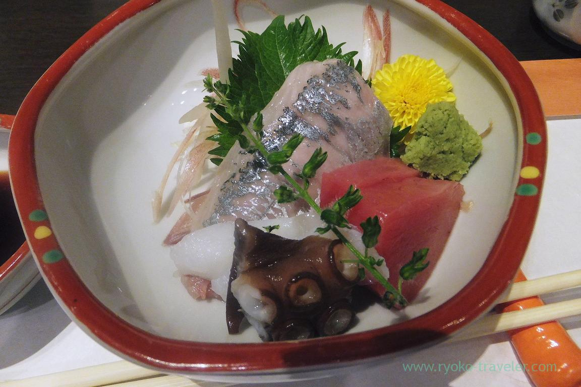 Assorted sashimi, Tokichi (Kinshicho)