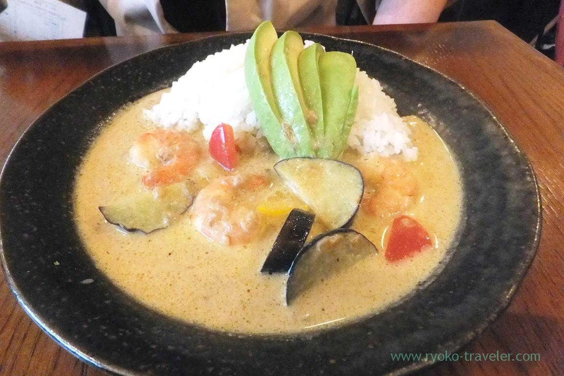 Avocado green curry, TODDY'S (Funabashi)