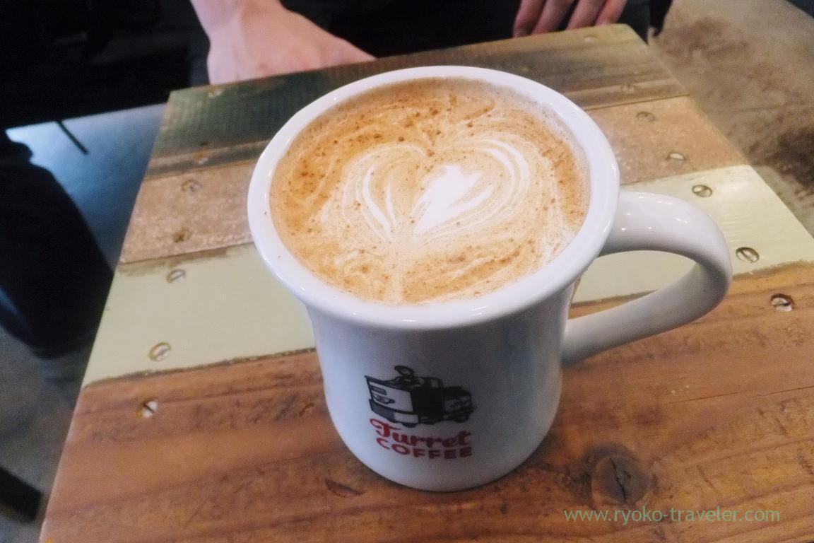 Chai tea latte, Turret Coffee (Tsukiji)