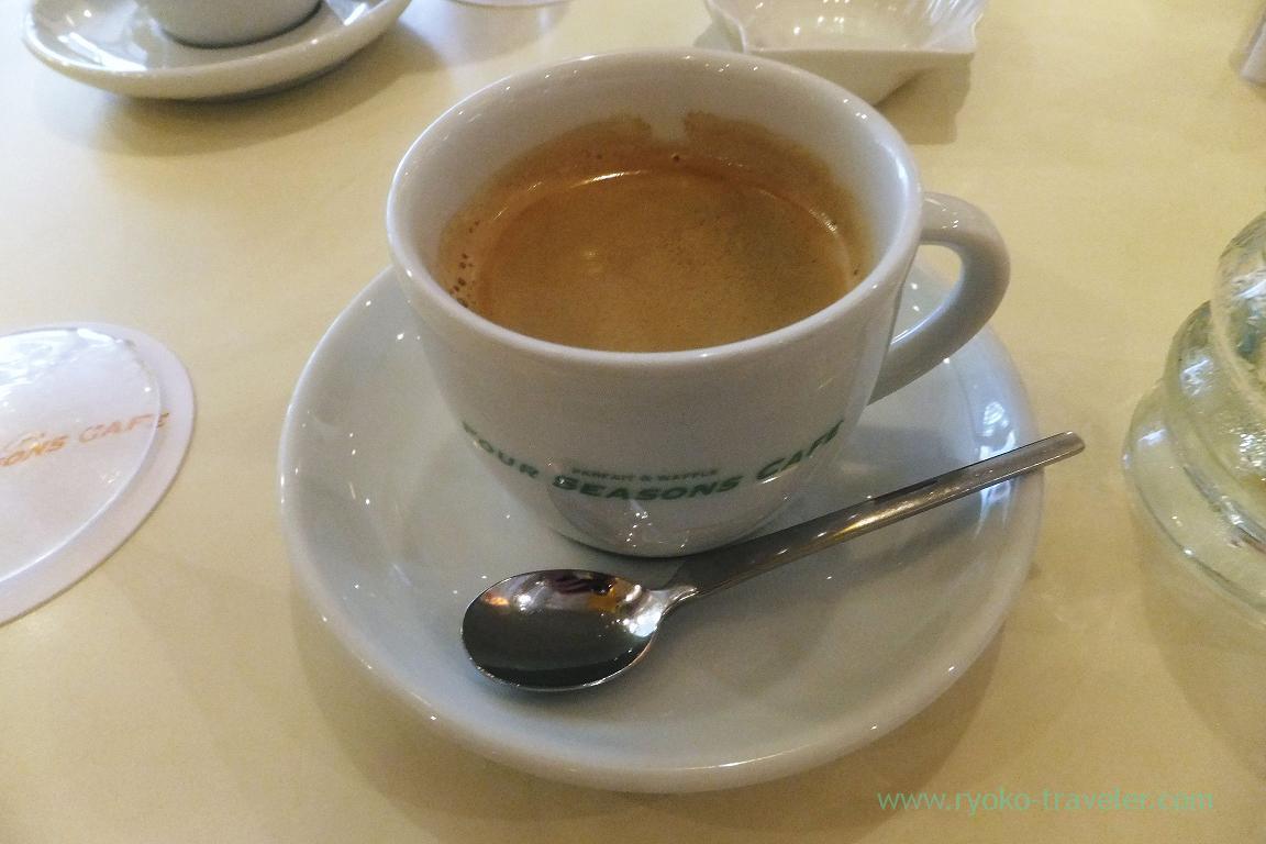 Coffee, Four season cafe (Nishi-Kasai)