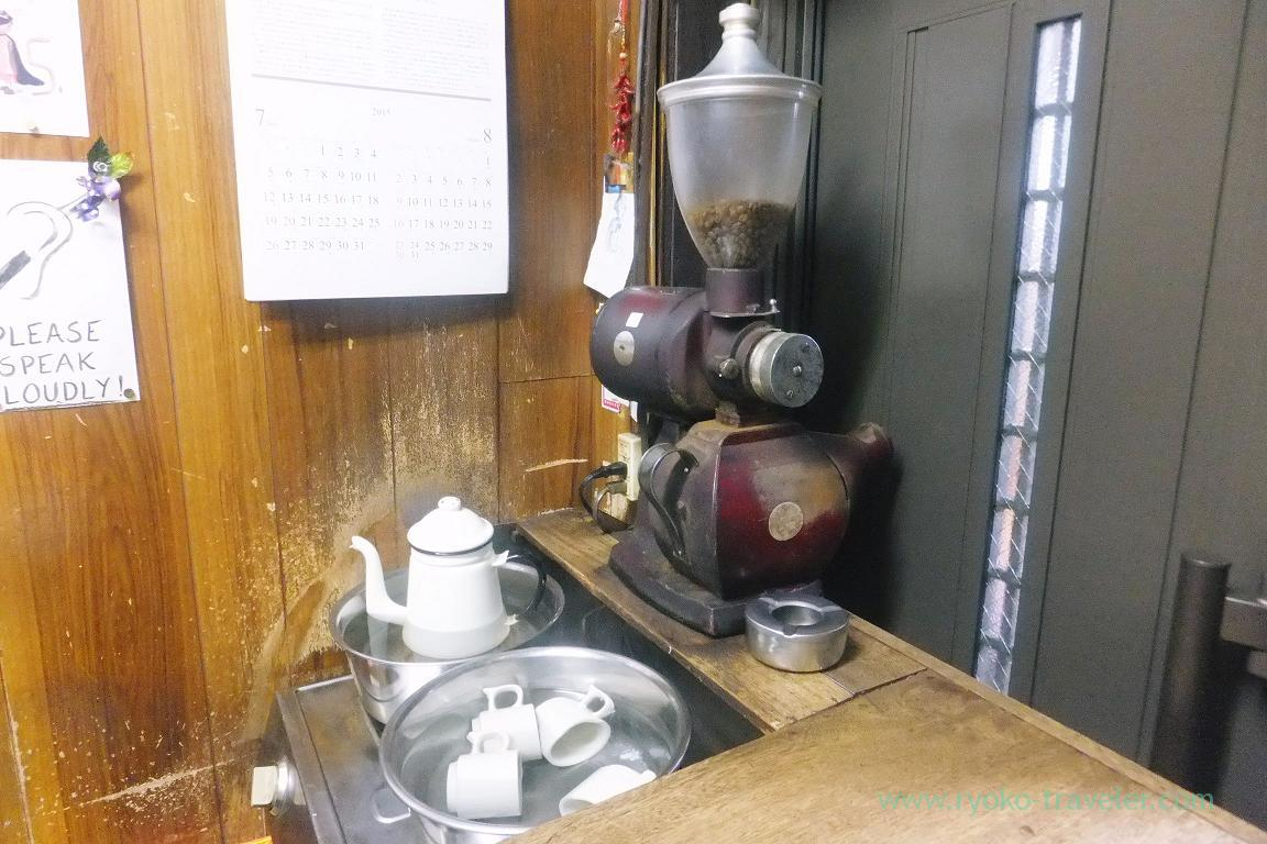 Coffee machine, Coffee Amikane (Tsukiji)