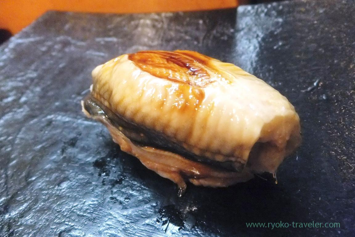 Conger eel with sauce, Miyakozushi (Bakuro-Yokoyama)