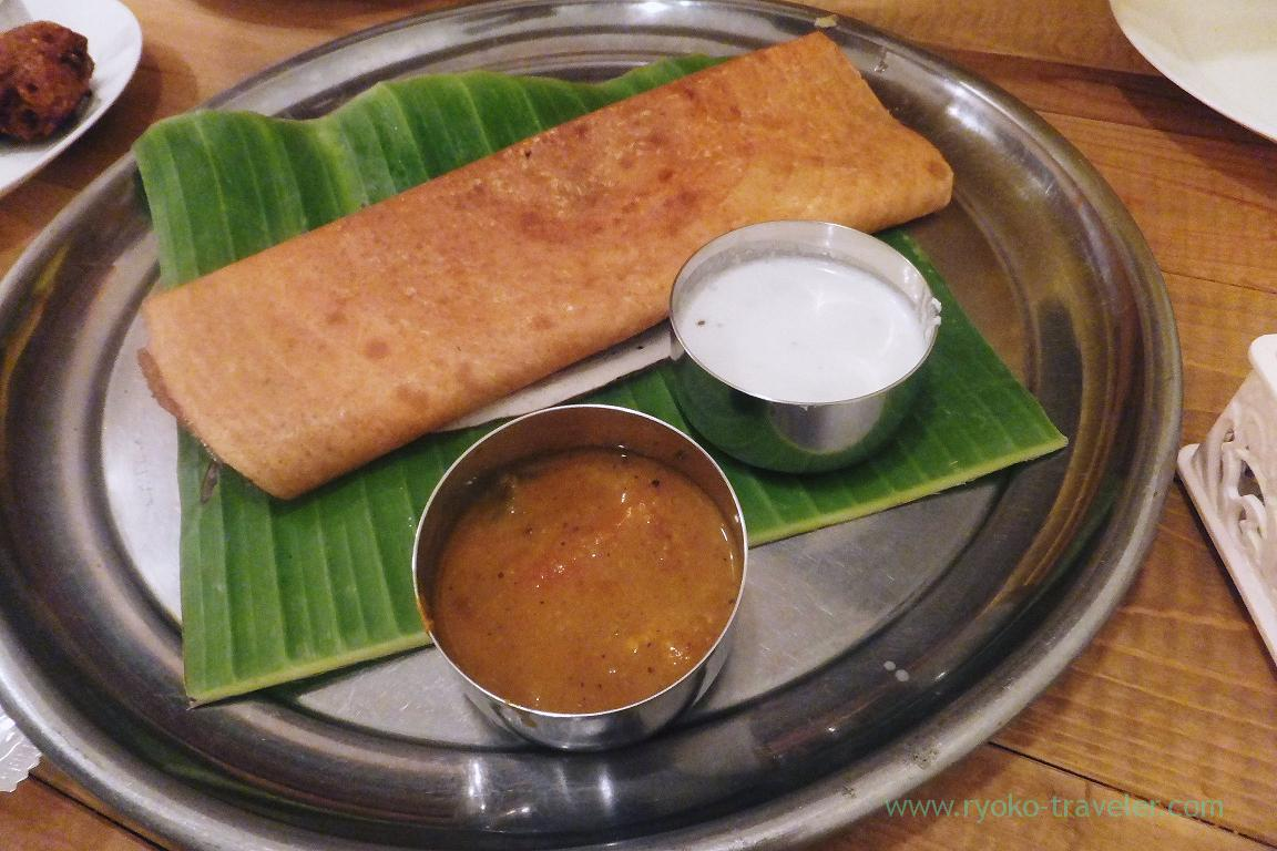 Egg dosa, SOUTH INDIAN DINING Venus (Kinshicho)