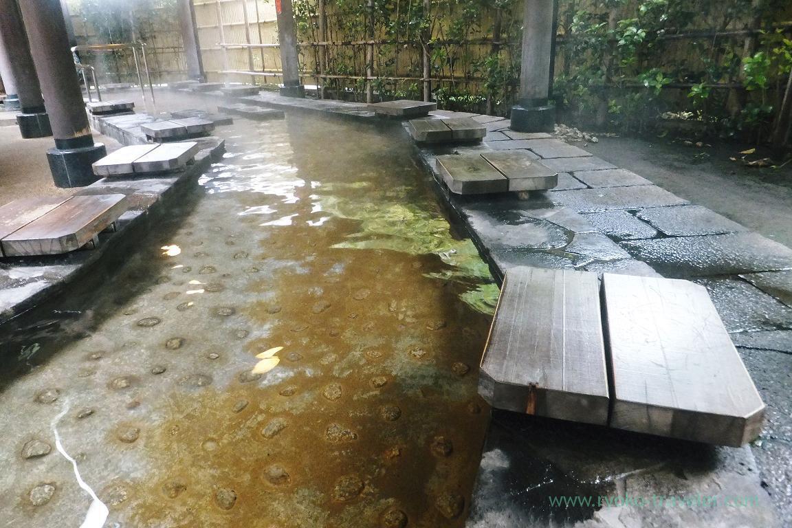 Foot bath, foot sauna, Kannawa Onsen (Oita 2015 Spring)