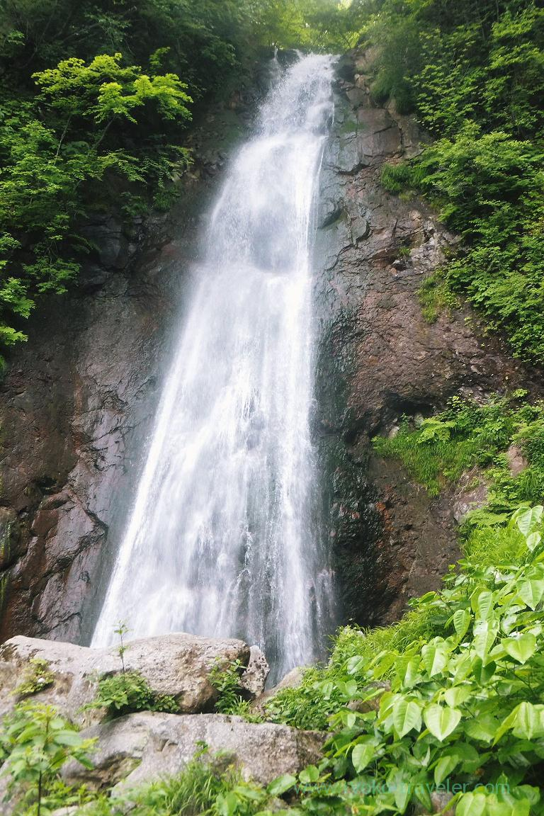 Fudotaki falls, Takayu Onsen (Tamagoyu 2014)