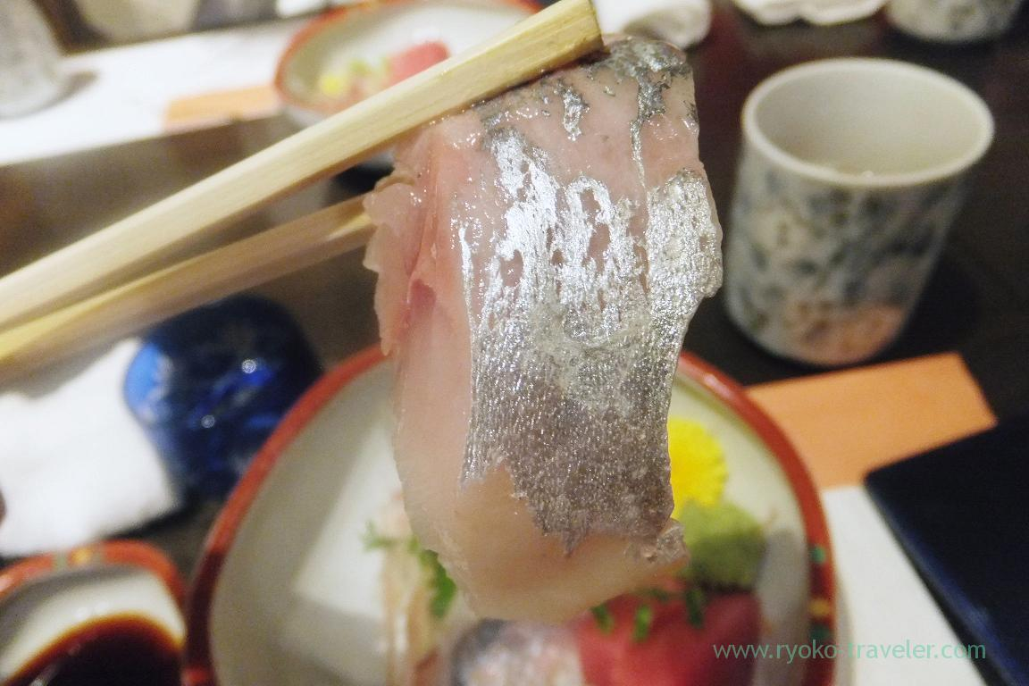 Horse mackerel, Tokichi (Kinshicho)