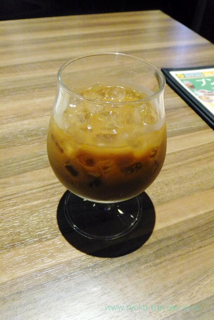 Iced coffee, Sun Flower Motoyawata branch (Motoyawata)
