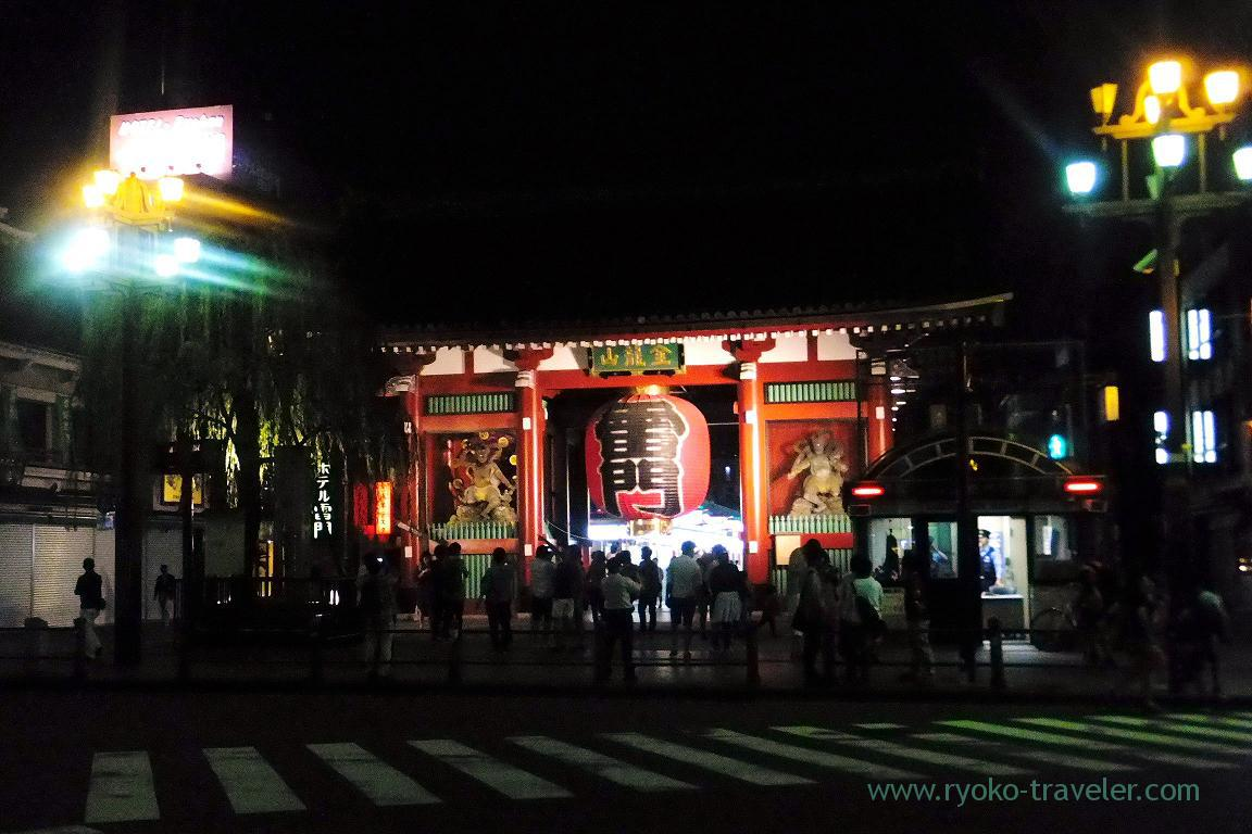 Illumination, Sensoji temple (Asakusa)