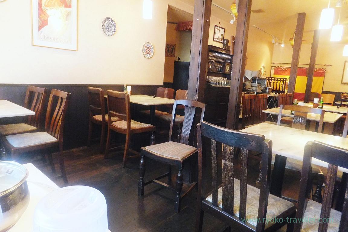 Interior, Iberiko Bar Monnaka (Monzennnakacho)