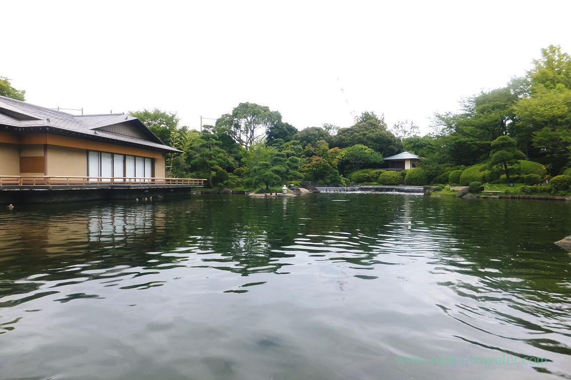 Japanese garden, Gyosen park (Nishi-Kasai)