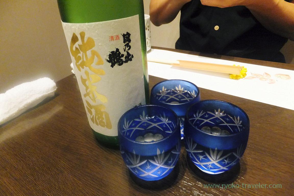 Japanese sake, Tokichi (Kinshicho)