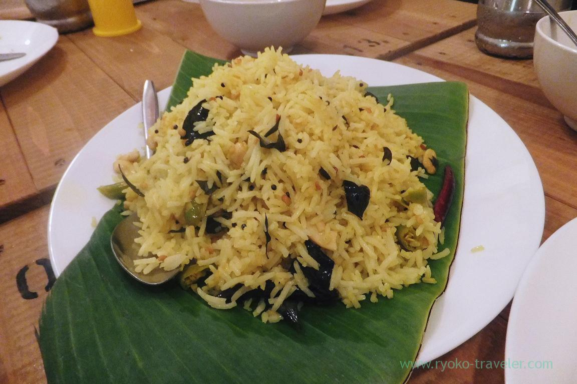 Lemon rice, SOUTH INDIAN DINING Venus (Kinshicho)
