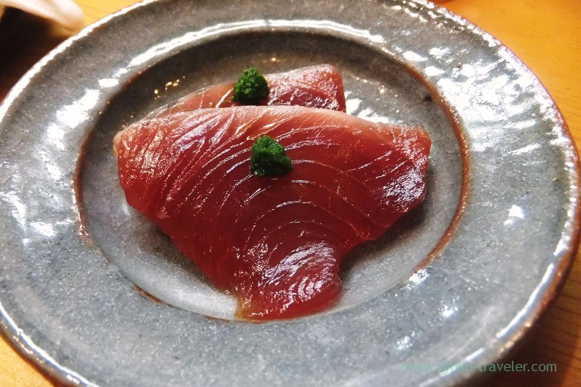 Marinated bonito from Kesennuma, Miyakozushi (Bakuro-Yokoyama)
