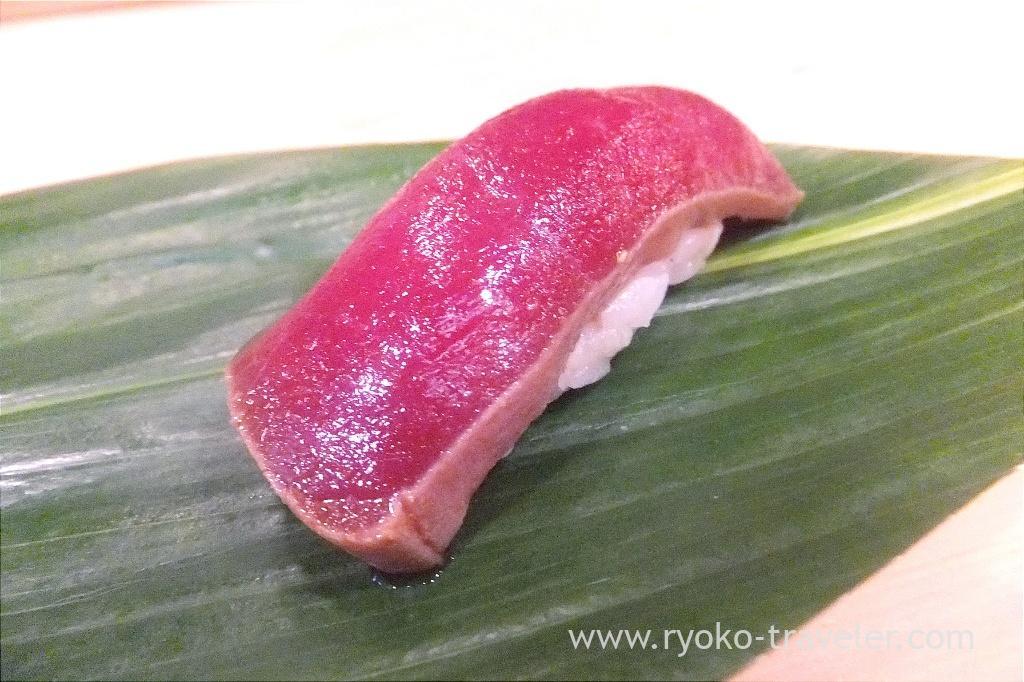 Marinated lean meat of tuna, Okeisushi (Omotesando)