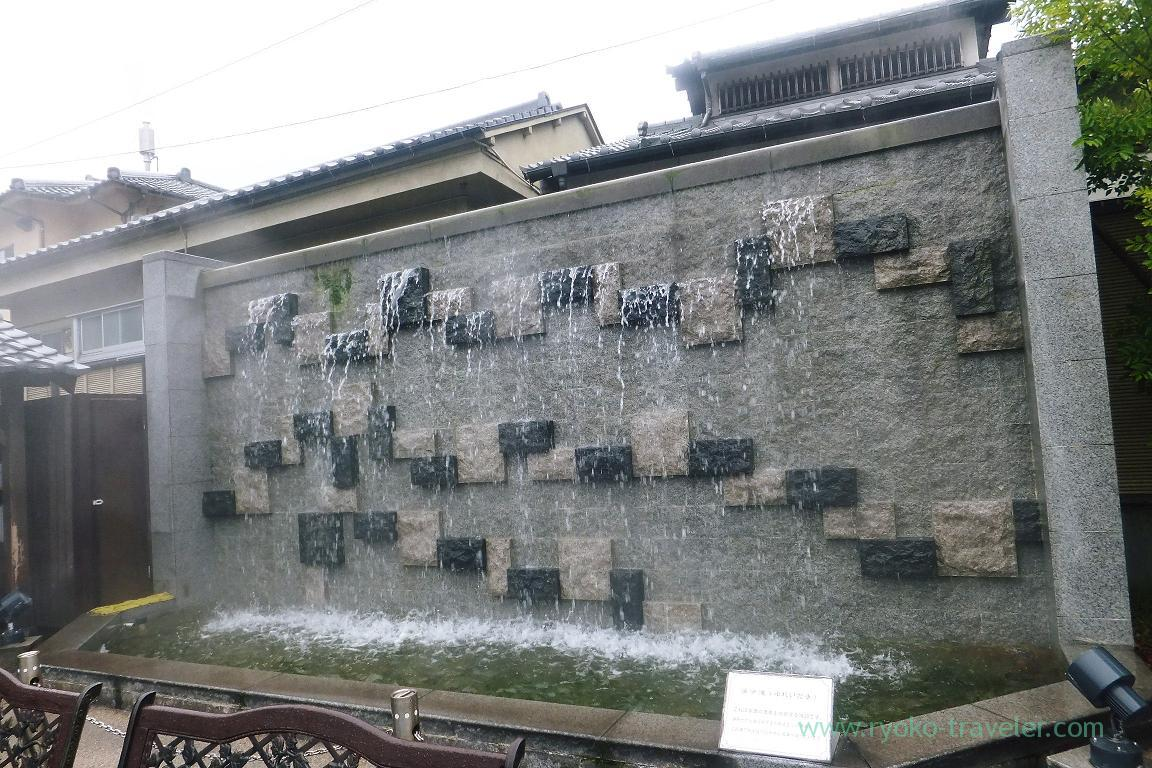 Not water but onsen, Kannawa Onsen (Oita 2015 Spring)