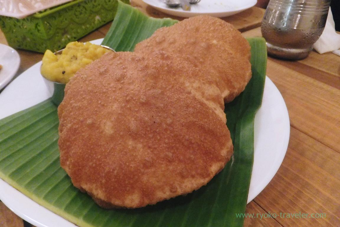 Poori masala, SOUTH INDIAN DINING Venus (Kinshicho)