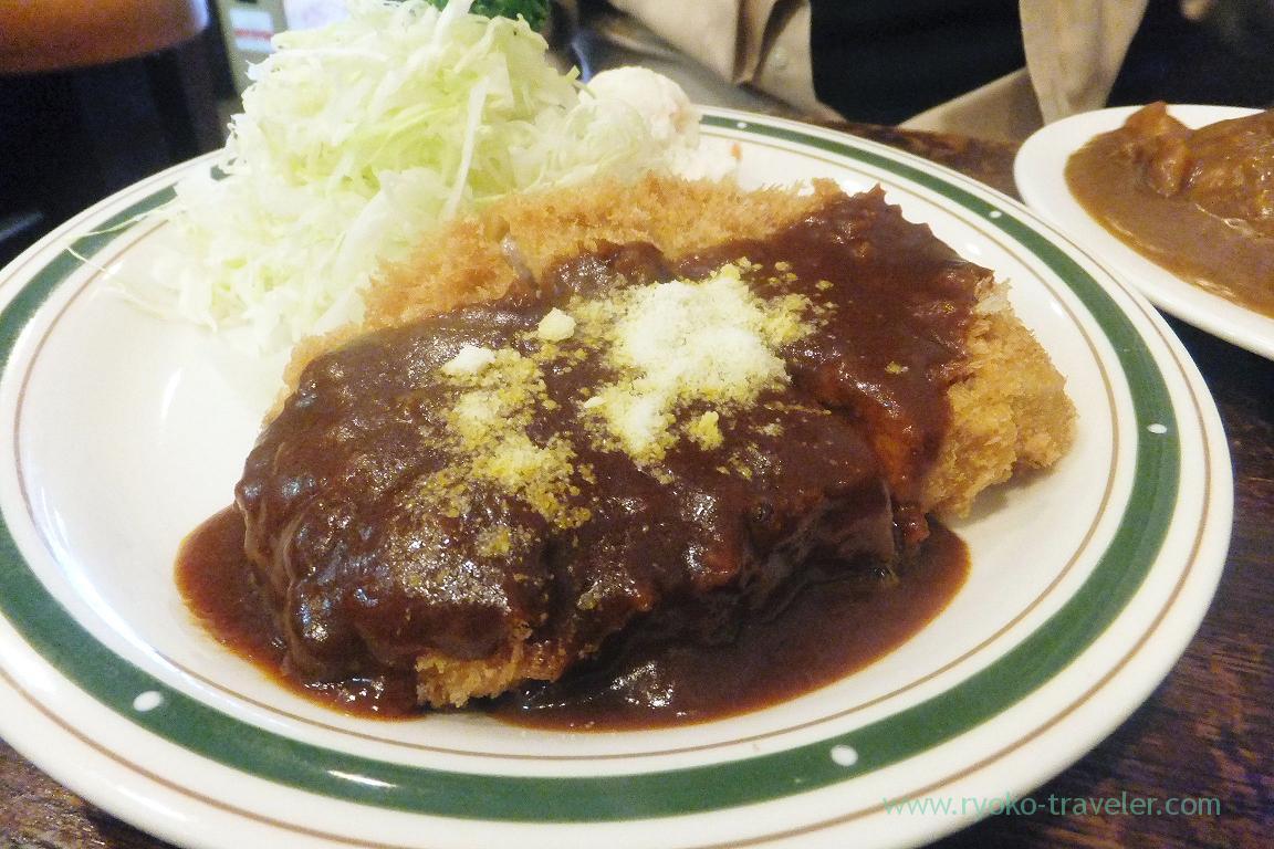 Pork cutlet, Cutlet Yoshoku Takeda (Yotsuya)