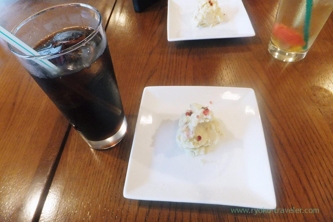 Potato salad and coke, TODDY'S (Funabashi)