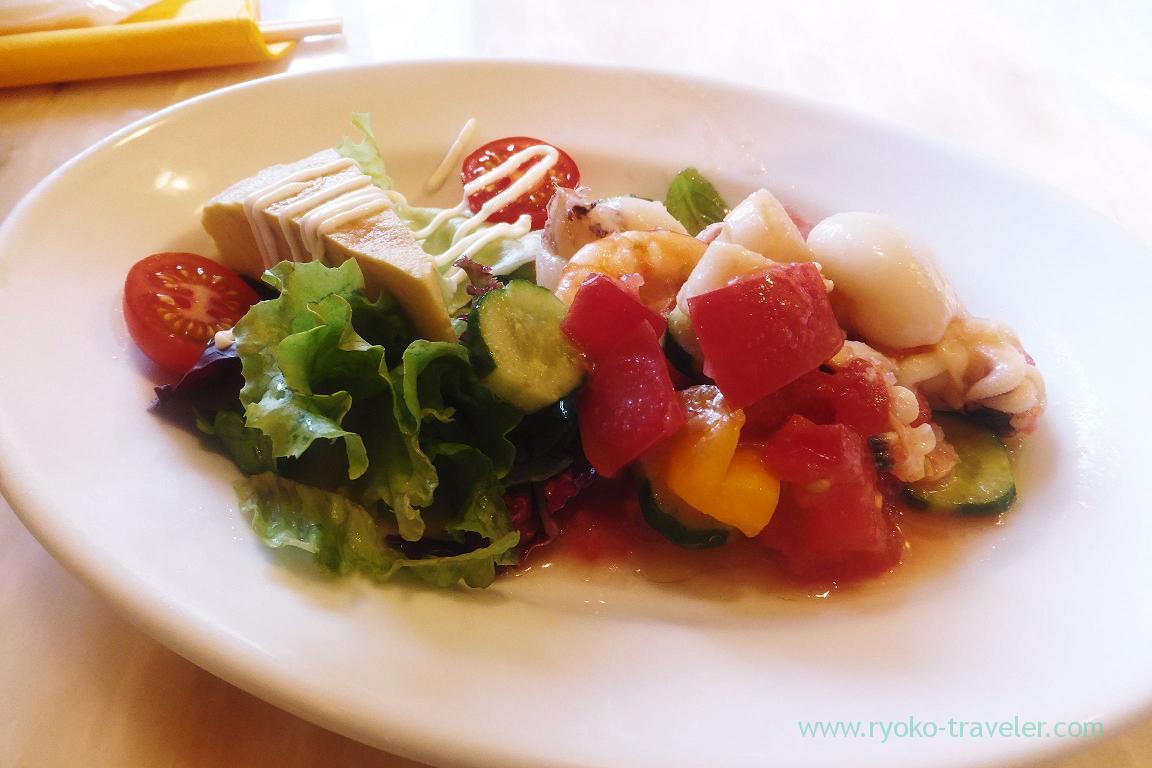 Salad, Iberiko Bar Monnaka (Monzennnakacho)